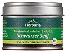 Herbaria Schwarzer Senf, 1er Pack (1 x 40 g Dose) - Bio