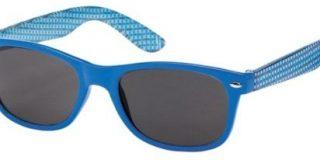 Montana Eyewear Sunoptic 961 Kinder Sonnenbrille in blau plus gemustert