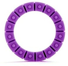 Shots Toys Silikon Liebes Wheel - medium - violett - Penisringe