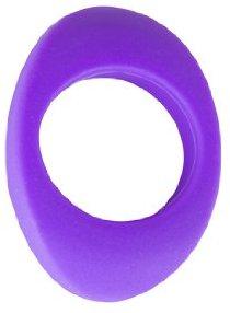 Evolved Vibrator Enhancer Silikon stimulierende Cockring Dick violett