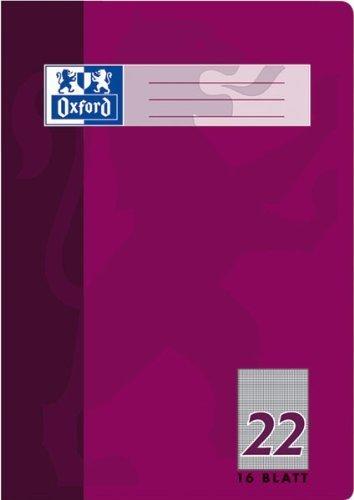 Oxford Heft A4 Lin. 22-384401622 Lin. 22-kariert 5mm 90g-qm