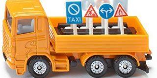 Siku 1322 - LKW mit Verkehrszeichen (farblich sortiert)