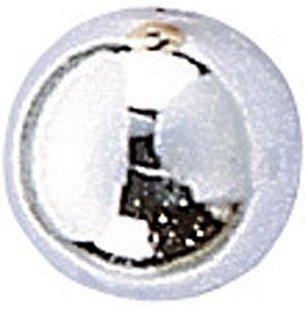 KnorrPrandell 6052053 Wachsperlen, 5 mm Durchmesser, silber
