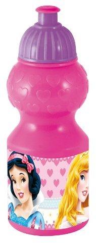 Joy Toy 736250 - Disney Princess Sportflasche, 350 ml, 6 x 6 x 17 cm