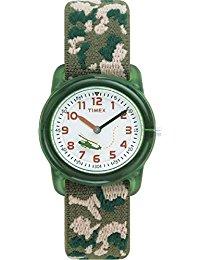 Timex Jungen-Armbanduhr Analog Textil T78141