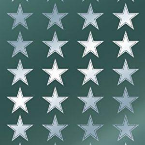 Avery Zweckform 52811 Weihnachtssticker Sterne 56 Aufkleber