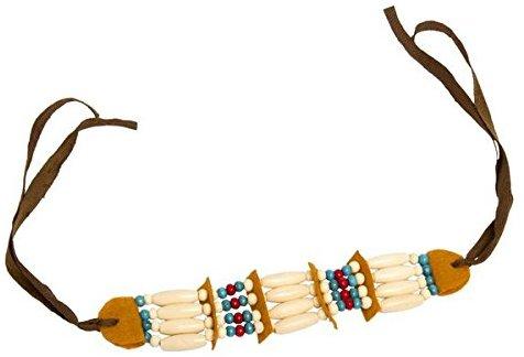 Folat Indianer Halskette mit Perlen und Schleife