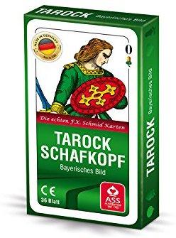 ASS Altenburger 22570207 - Schafkopf-Tarock - Bayerisches Bild, Kartenspiel
