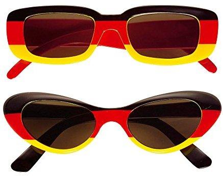 Widmann 6649A - Brille Deutschland, schwarz - rot - gelb