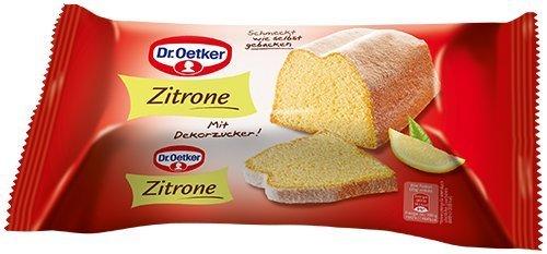 Dr. Oetker Fertigkuchen Zitronenkuchen, 1er Pack (1x 350 g)