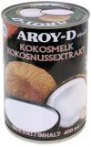 Aroy-D Kokosnussmilch, Fettgehalt: ca. 17%, 12er Pack (12 x 400 ml Packung)