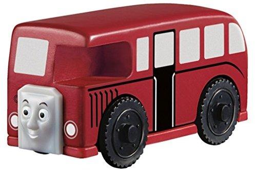 Mattel Fisher-Price BBT41 - Thomas und seine Freunde Holzlokomotive Bertie der Bus