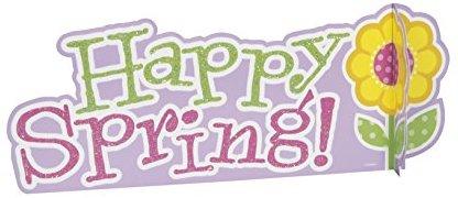 Happy Spring Ostern Mittelpunkt Dekoration