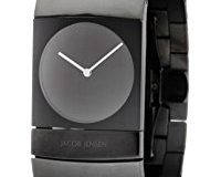 JACOB JENSEN Herren-Armbanduhr JACOB JENSEN ARC SERIES Analog Quarz Titan 572