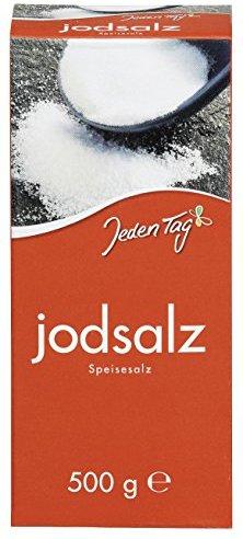 Jeden Tag Jodsalz, 6er Pack (6 x 500 g)