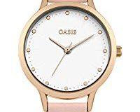 Oasis Damen-Armbanduhr Analog Quarz SB003P