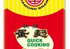 Diamond Quick Cooking Nudeln, mit Ei, 5er Pack (5 x 500 g Packung)