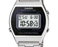 Casio Collection - Unisex-Armbanduhr mit Digital-Display und Edelstahlarmband - B640WD-1AVEF