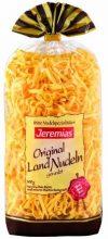 Jeremias Bandnudeln 4 mm gewalzt, Gourmet Frischei-Nudeln, 2er Pack (2 x 500 g Beutel)