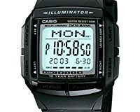 Casio Collection - Herren-Armbanduhr mit Digital-Display und Resin-Armband - DB-36-1AVEF