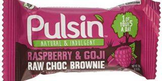 Pulsin Berry Burst - Antioxidantien reiche Snack Mit Goji Beeren, 1er Pack (1 x 50 g)