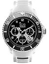 Ice-Watch Herren - Armbanduhr Ice Sporty Analog Quarz Silikon SR.CH.WBK.BB.S.15