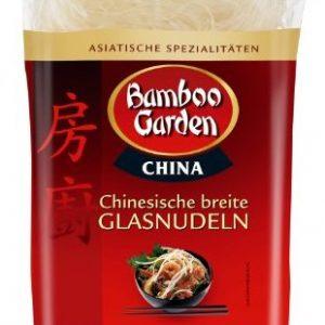 Bamboo Garden Chinesische breite Glasnudeln 250g, 2er Pack (2 x 250 g)