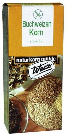 Werz Gold-Buchweizen-Korn glutenfrei, 1er Pack (1 x 1 kg Packung) - Bio