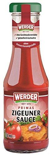 Werder Zigeuner Sauce, 1er Pack (1 x 250 ml)