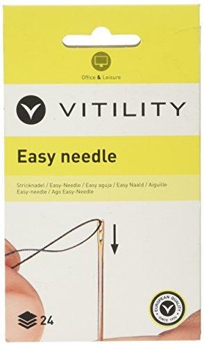 Vitility 70410080 Stricknadel Easy Needle