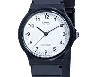 Casio Collection - Unisex-Armbanduhr mit Analog-Display und Resin-Armband - MQ-24-7BLLGF