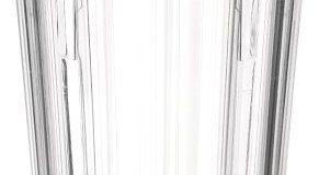 Nottingham Rehab Supplies M79395 antibakterieller Becher, Geriffelt, Kunststoff