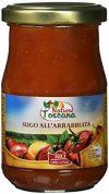 NATURA TOSCANA Arrabbiata Pikante Sauce (Glas), 1er Pack (1 x 180 g)