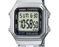 Casio Collection - Unisex-Armbanduhr mit Digital-Display und Edelstahlarmband - A178WEA-1AES