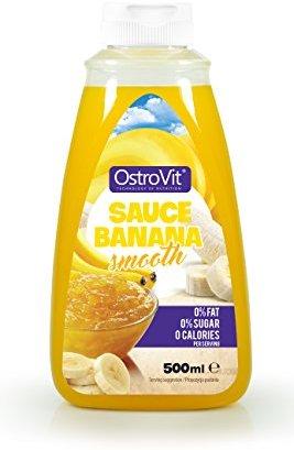 OstroVit Sauce Banana Smooth, 500 ml