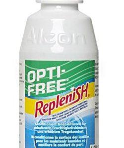 Opti Free Replenish, Kontaktlinsen-Pflegemittel, Travelpack, 1 x  90 ml