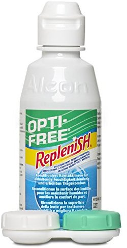 Opti Free Replenish, Kontaktlinsen-Pflegemittel, Travelpack, 1 x  90 ml