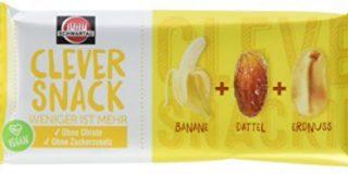 Clever Snack Banane-Dattel-Erdnuss, 15er Pack (15 x 35 g)