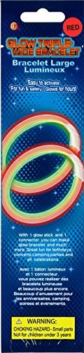 Party Kollektion P00104 - Knicklicht Armband Breit