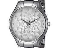 Esprit Damen-Armbanduhr silver Analog Quarz Edelstahl ES109022001