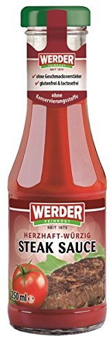 Werder Steak Sauce, 1er Pack (1 x 250 ml)