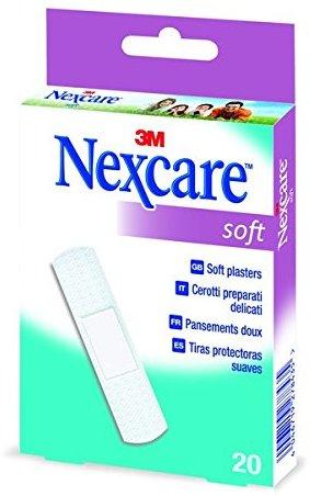 Nexcare N0520NS0 Soft Pflaster, 20 Pflasterstreifen