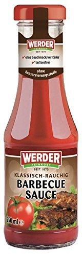 Werder Barbecue Sauce, 1er Pack (1 x 250 ml)