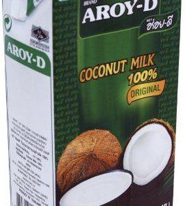Aroy-D Kokosnussmilch, Fettgehalt: ca. 17%, 8 x 500 ml