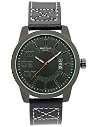 Mike Ellis New York Herren-Armbanduhr Darkrace Analog Quarz Leder SM3132