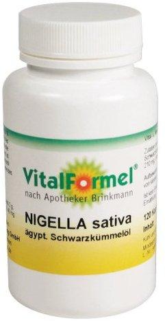 NCM Vitalformel Nigella, 120 Kapseln,  1er Pack (1 x 86,4 g)