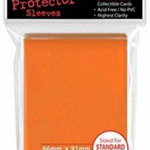 Ultra Pro 82673 - Deck-Schutz Standard Sleeves, orange