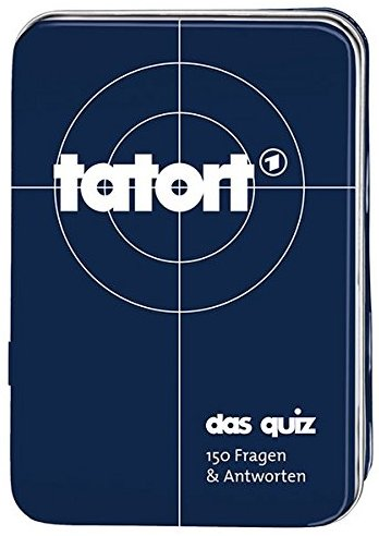 """Moses MOS00806 - Kartenspiel """"Tatort - Quiz, 150 Fragen und Antworten"""""""