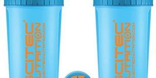 Scitec Nutrition Shaker, 700 ml, neon blue
