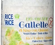 RICE&RICE Reiswaffeln mit Quinoa Bio, 1er Pack (1 x 100 g)